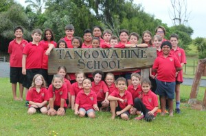 2017 Tangowahine School Students
